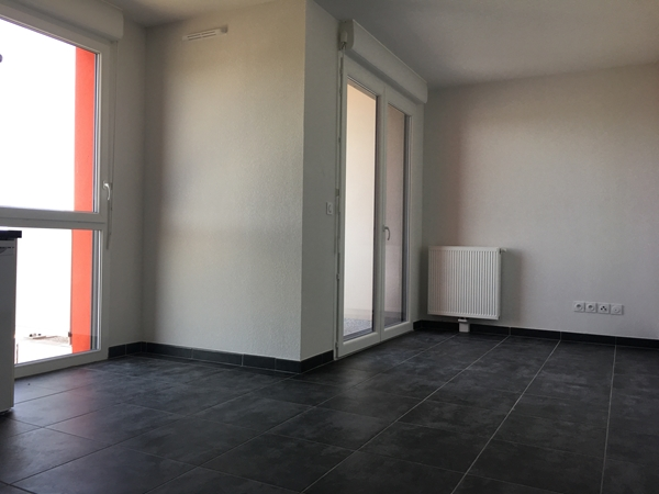 Location appartement Toulouse, 37.5m²
