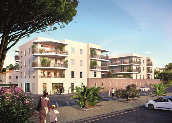 Location appartement à Seyne-sur-Mer, type appartement, 44.75m²