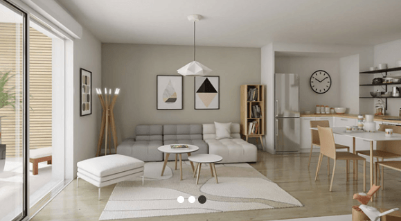Location appartement à Strasbourg, surface de 60.6m²