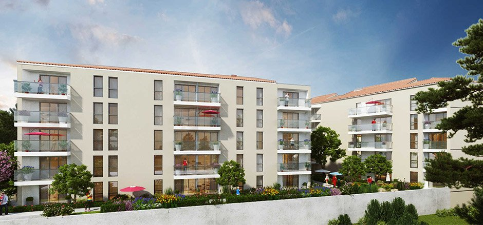 Location appartement, appartement de 44.63m², situé à Toulon