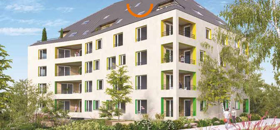 Location appartement à Strasbourg, type appartement, 44.4m²